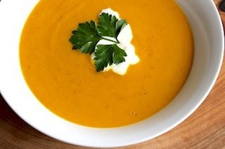 Recipe of the Month January – Spicy Sweet Potato Soup