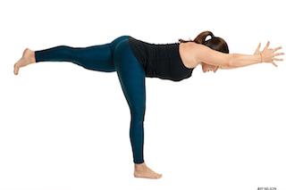 Yoga Posture of the Month April – The Plane – Virabhadrasana or Warrior III