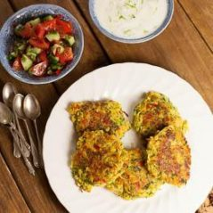 Recipe of the Month – September – Spiced Courgette Fritters