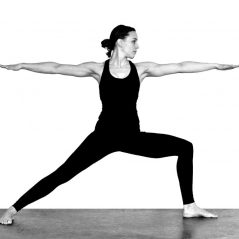 Yoga Posture for the Month of February – Virabhadrasana II – Warrior II