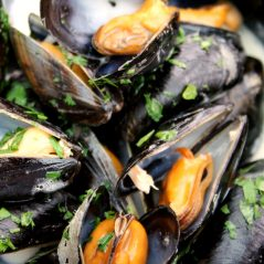 Nicky's recipe for March – Brancaster Mussel Stew