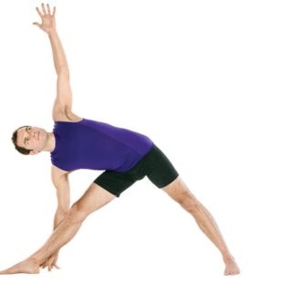 Izzy's Yoga Posture for the month of April – Trikonasana – The Triangle