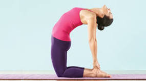 Izzy's Yoga Posture for the Month of April – Ustrasana (The Camel)