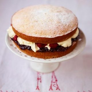 Nicky's Recipe for the Month of June – Victoria Sponge Cake