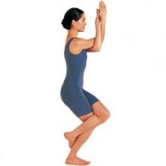 Izzy's Yoga Posture for September – Garudasana – The Eagle