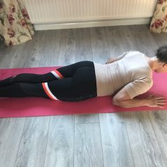 Pilates Exercise for October – Breast Stroke Prep