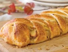 Nicky's recipe for May – David's Apple Strudel Pie